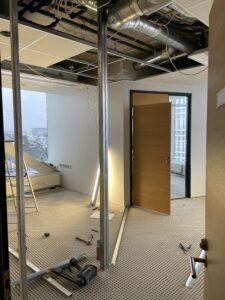 Eesti Ehitusettevõtete Liidu büroo viimistlustööd