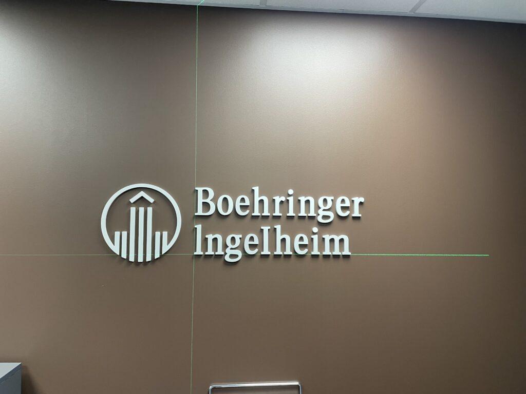 Boehringer Ingelheim büroo viimistlustööd