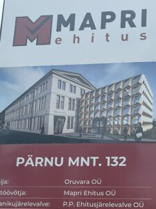 Pärnu mnt 132 büroohoone kipsi-ja viimistlustööd
